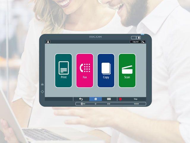 ricoh smart apps accesibilidad - Ricoh Smart Apps