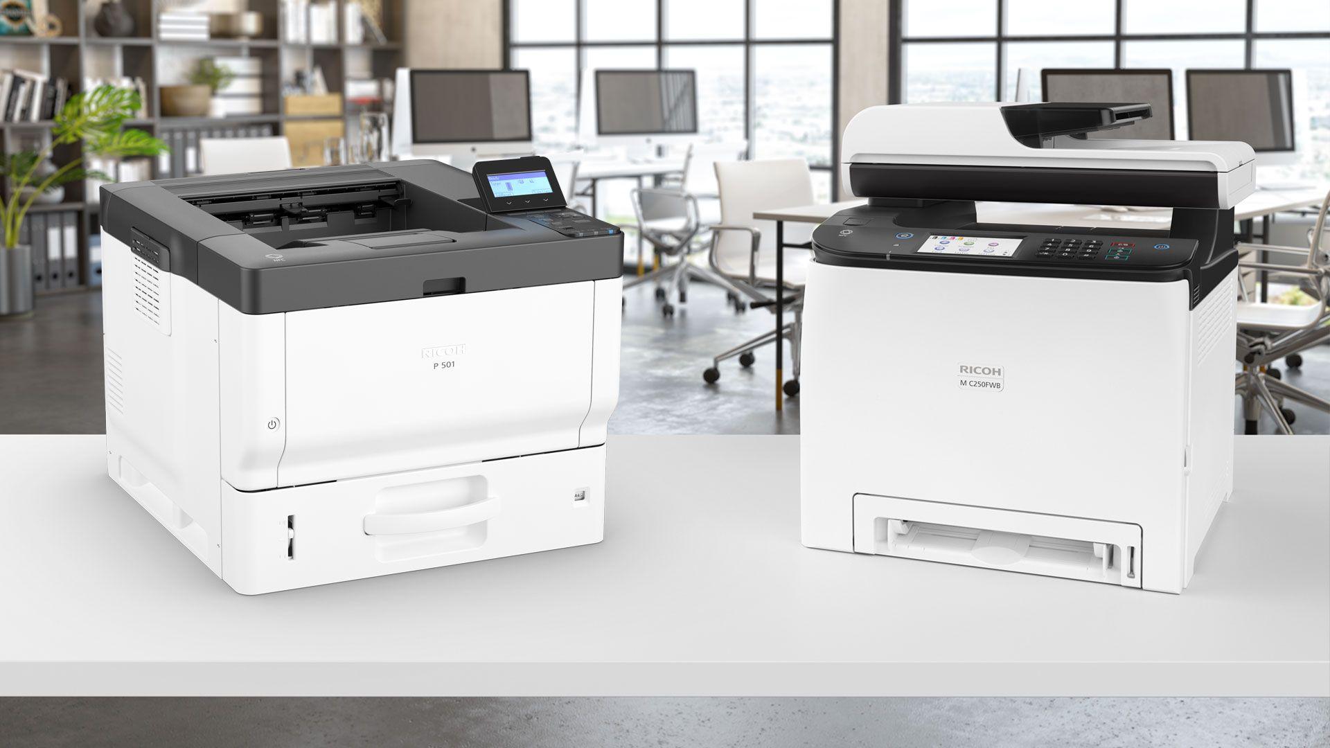 impresoras ricoh P501 header - Impresoras Ricoh