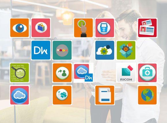 ricoh smart apps header prev - Impresoras Ricoh